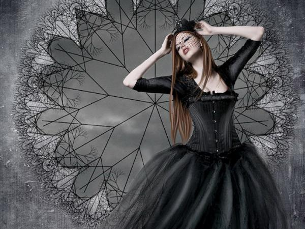 Gothic Dream Of A Girl, Gothic Girls