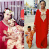 Wizkid's Son, Ayo Jnr Stuns Alongside Mum in Nigerian Fabric [PICS]