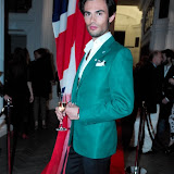 WWW.ENTSIMAGES.COM -  Mark-Francis Vandelli    at    Mitch Griffiths Iconostasis  private view at Halcyon Gallery, 144 New Bond Street May 15th 2013                                                   Photo Mobis Photos/OIC 0203 174 1069