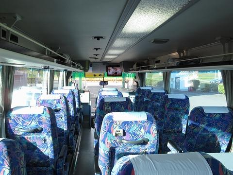 道北バス「サンライズ旭川釧路号」 1040 車内 その2
