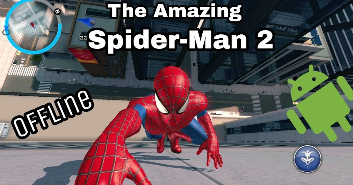 The Amazing Spiderman 2 Mod Apk (Cracked Version ) + Data
