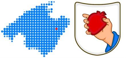 Manacor, Mallorca. Mapa Localización. Rafa Nadal Academy Tenis.