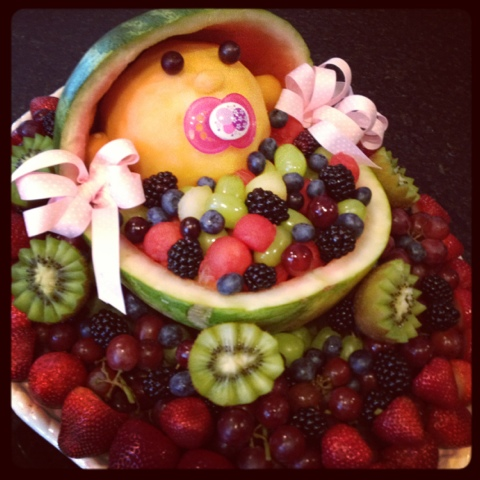 the third boob baby shower fruit salad