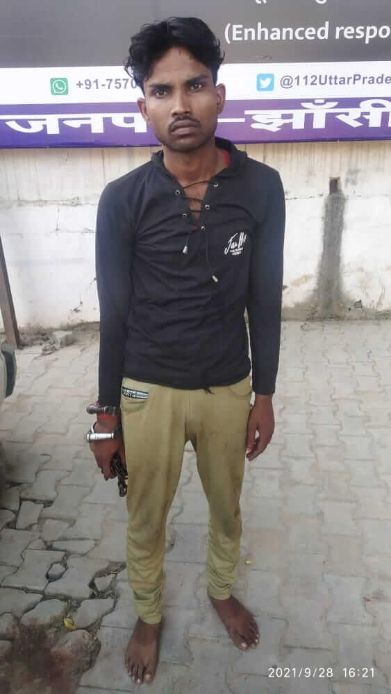 चोरी की बाईक सहित युवक चढ़ा पुलिस के हत्थे