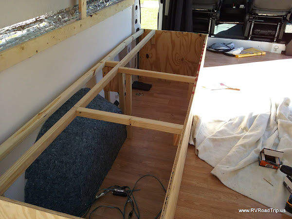 Ram ProMaster RV Camper Van Conversion