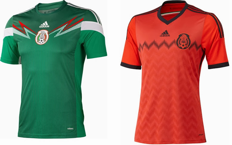 various colors 79a09 51b9c FIFA World Cup 2014 Kits - Official Jerseys