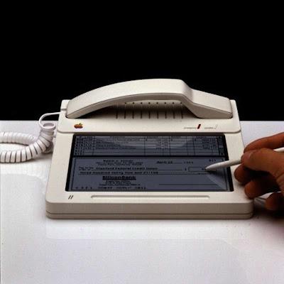 Apple ya imaginaba un teléfono en 1983