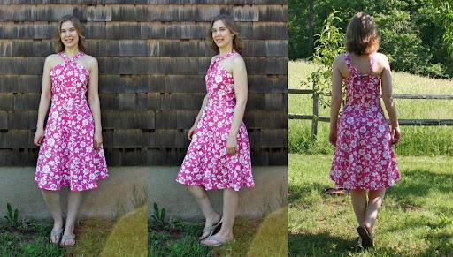 Sewaholic Lonsdale dress composite photo