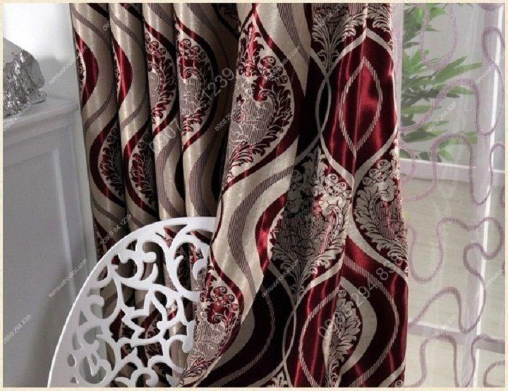 Rèm cửa hà nội đẹp phong cách huyền bí 12