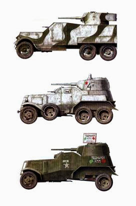 Броневики Красной армии