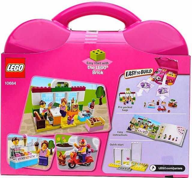 Lego Juniors 10684 Vali siêu thị giúp bé nhà bạn trưởng thành cả về thể chất và trí thông minh