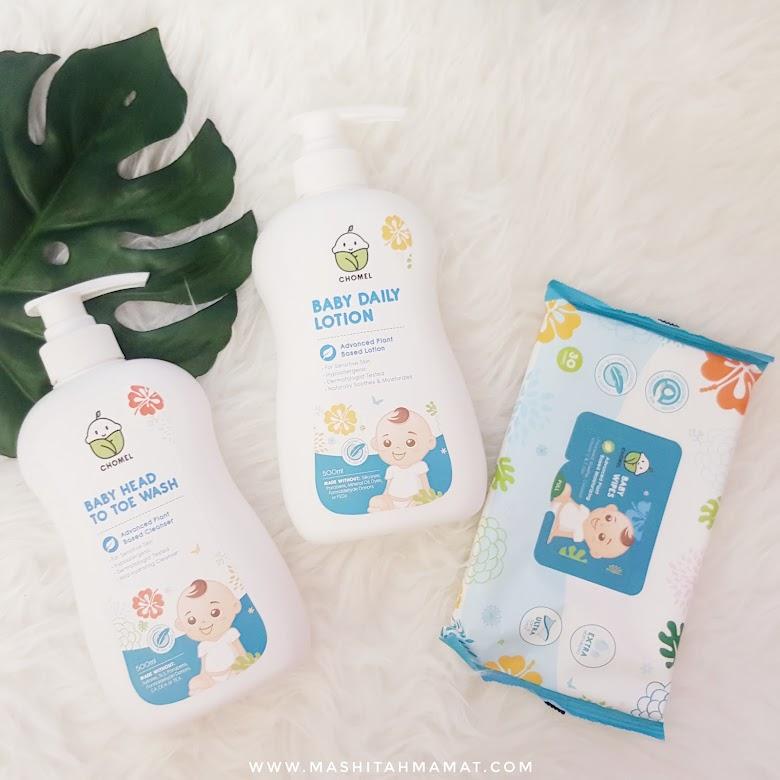 CHOMEL - Produk Penjagaan Kulit Bayi Yang Natural & Selamat Untuk Bayi Berkulit Sensitif