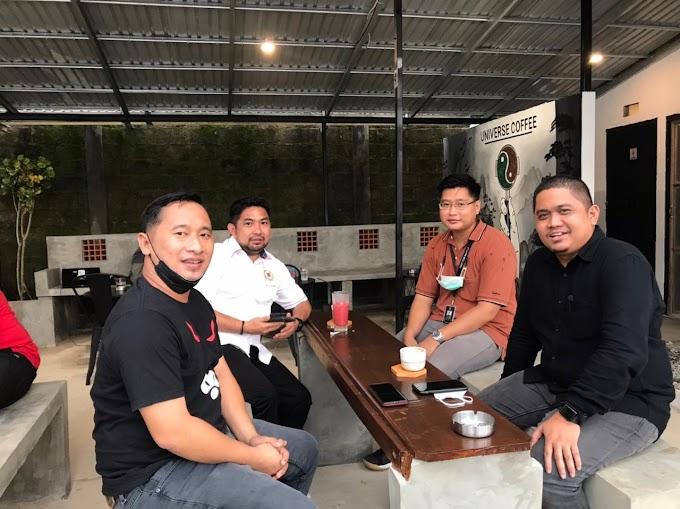 Gunakan Kopi Lokal Waket DPRD Kalsel Acungi Jempol Universe Coffee Banjarbaru