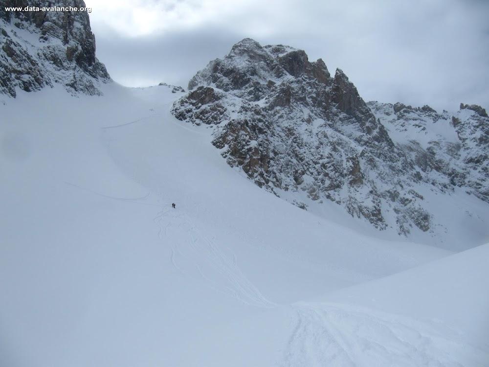 Avalanche Queyras, secteur Tête de la Petite Part - Photo 1 - © Carrard Xavier