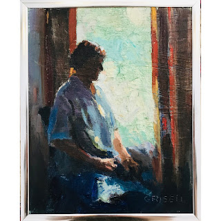 Susan Grisell Signed Oil Painting #2