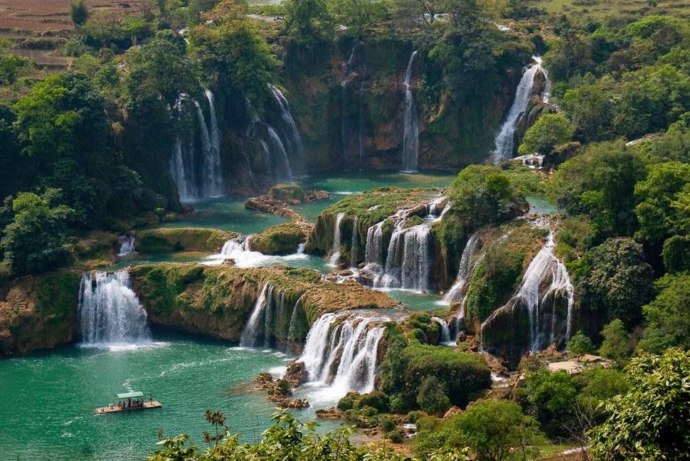 Дэтянь, Вьетнам, Красивые водопады планеты