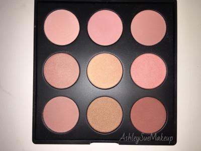 Ashley Sue Makeup Morphe 9n Naturally Blushed Palette