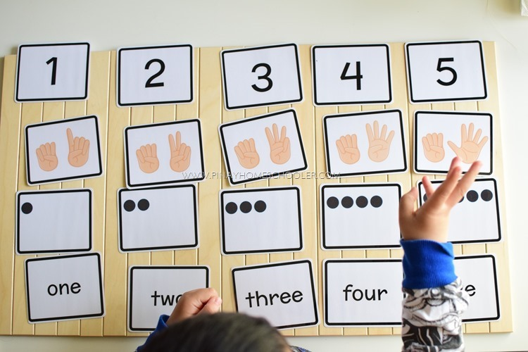 FREE Number Symbols for Counting and Number Recognition