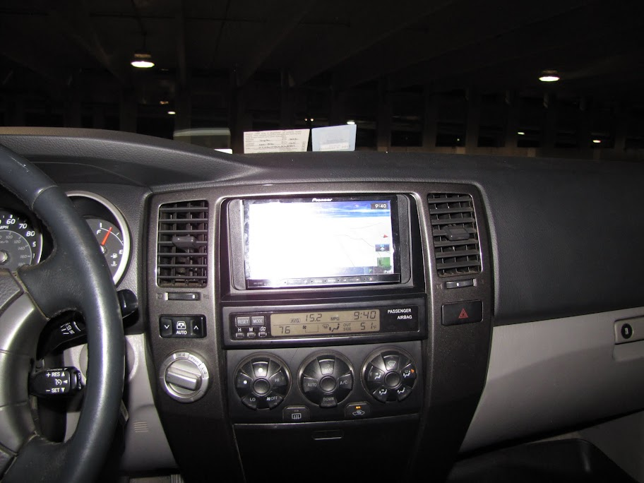need advice on 2006 4runner limited navigation system. Black Bedroom Furniture Sets. Home Design Ideas
