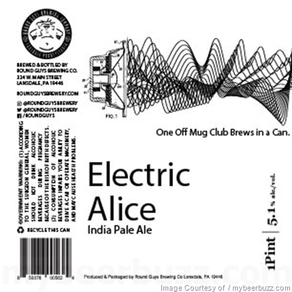 Round Guys Electric Alice IPA