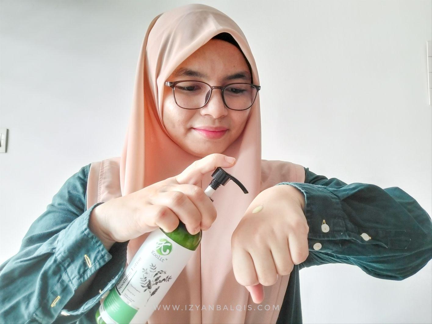 Produk Koolit Malaysia Bagus Atasi Kulit Kering Bermasalah