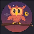 Cartoon Owl Illustration Free Download Vector CDR, AI, EPS and PNG Formats