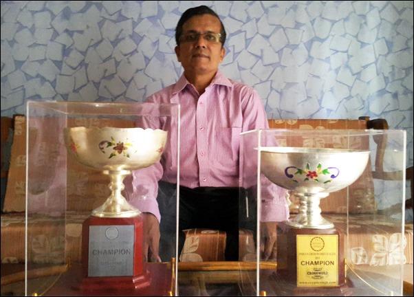 Ramki Krishnan - IXL 2014 2015 Champion