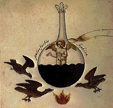 The Sophic Putrefaction From Cabala Mineralis Manuscript, Hermetic Emblems From Manuscripts 1