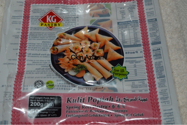 Ckinazizan Popia Simpul Serunding Daging Step By Step