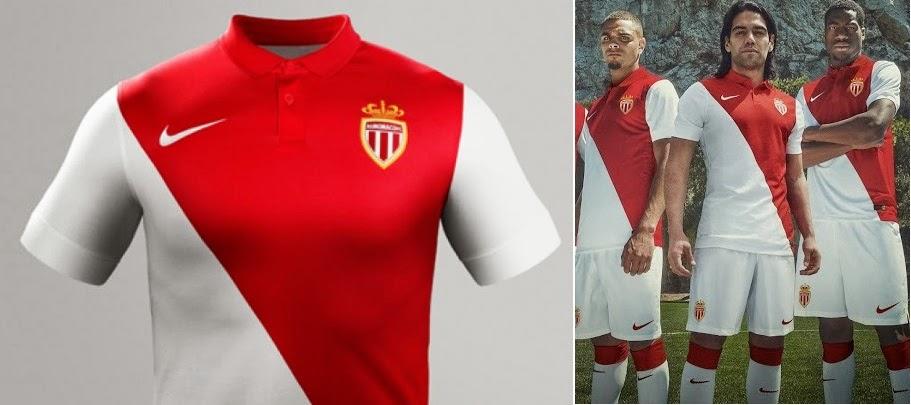 AS Monaco Home Kit 2014 15 Design