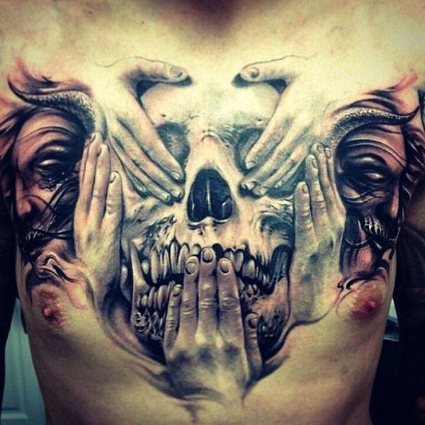 no_vejo_o_mal_no_ouça_o_mal_no_fale_mal_da_mo_e_do_crnio_3d_tatuagem