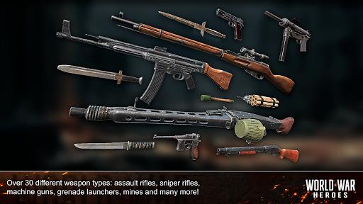 World War Heroes: WW2 FPS Shooting games! 1.6.3 screenshots 15