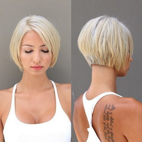 Short hair bob cuts 2019
