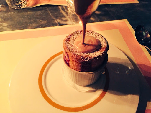 Strawberry soufflé heaven