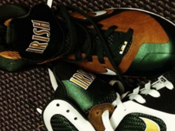 PE Spotlight Nike LeBron 9 SVSM Home amp Away PEs