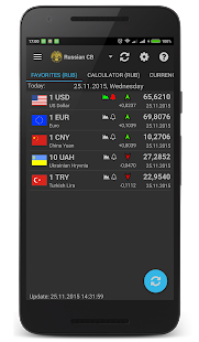Currency rates (Pro) Screenshot