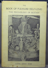 Cover of Austin Osman Spare's Book The Book Of Pleasure Or Self Love Illustrated