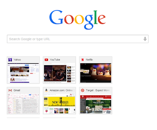 New Tab Page -Missing 2 out of 8 Most Visited Tiles - Google