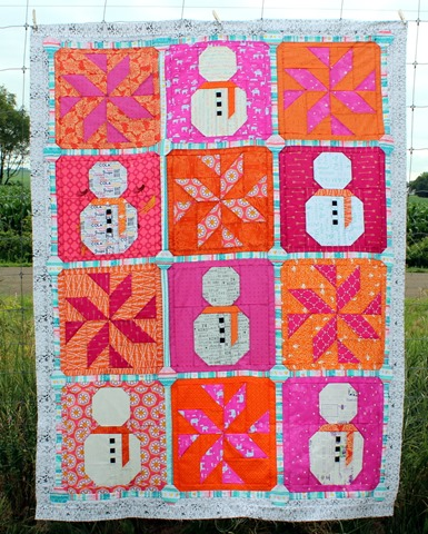 Let it Snow Quilt Overall