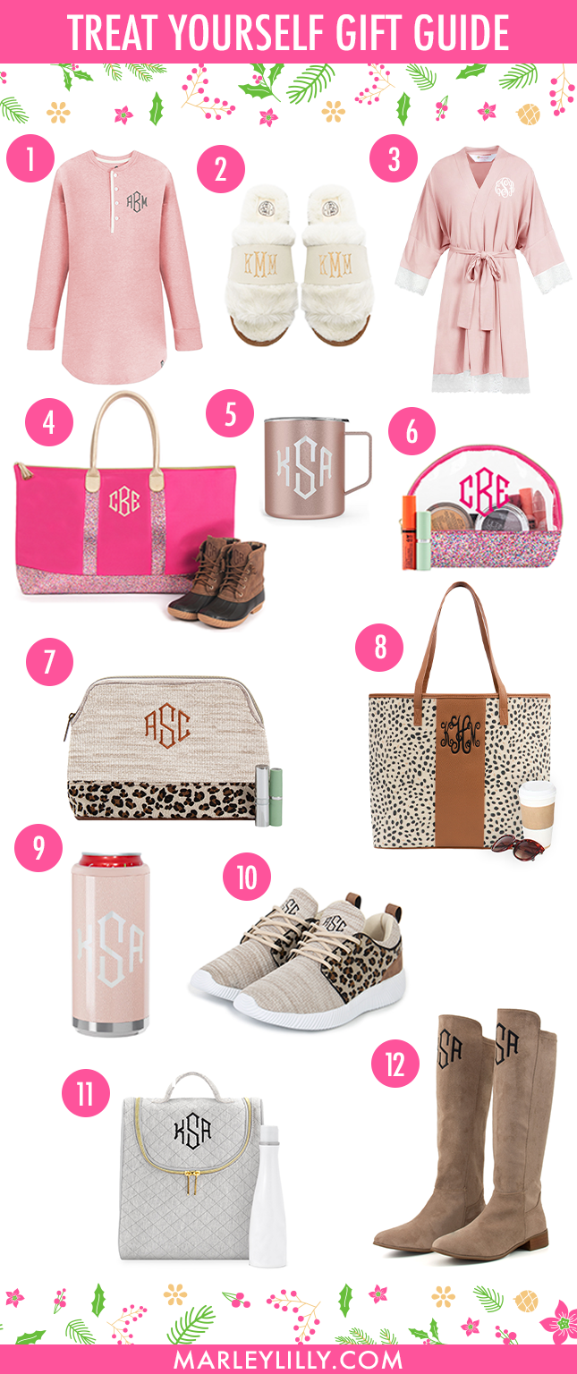 Monogrammed Holiday Gift Guide for yourself