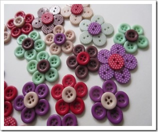 button flower pin brooches 3