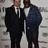 OIC - ENTSIMAGES.COM - Jay Brown and Femi Oyeniran at the Taking Stock Premiere at the Raindance Film Festival  London 4th October 2015  Photo Mobis Photos/OIC 0203 174 1069