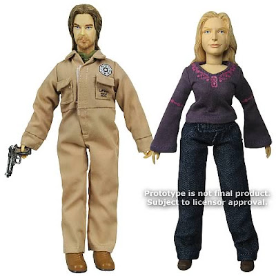 LOST James 'Sawyer' Ford & Juliet Burke 8 Inch Mego Style Action Figures by Big Bang Pow!
