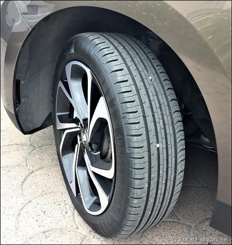 Renault-Grand-Scenic-Smala-20-tums-fälgar-Lättrullade-däck