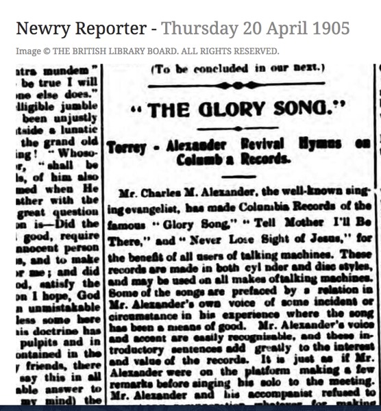 Alexaner Newry 1905