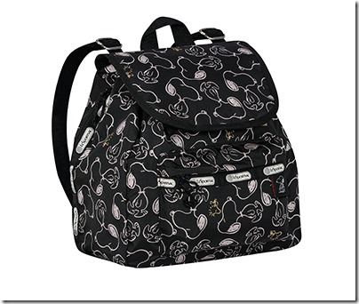 Peanuts X LeSportsac 9808 Small Edie Backpack 01
