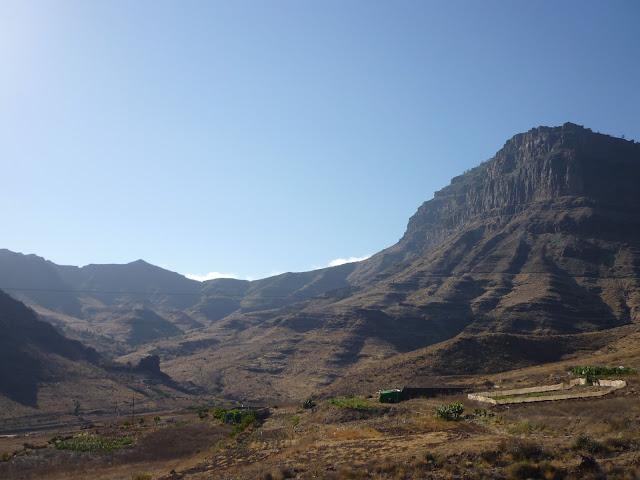 Tal im trockenen Süden von Gran Canaria.