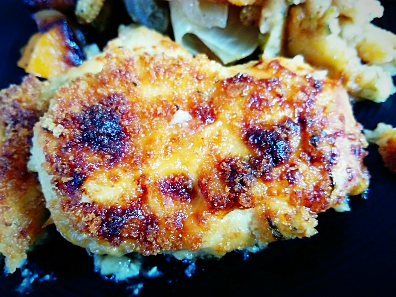 For The Love Of Banting Heba And Parmesan Crusted Chicken