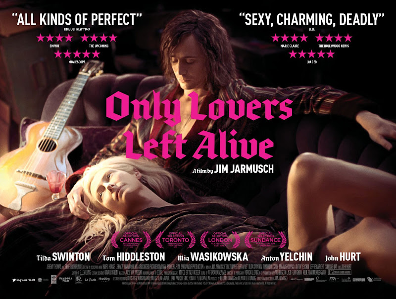 Only Lovers Left Alive - movie poster