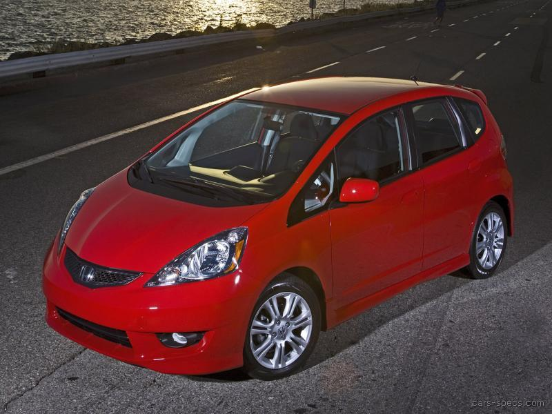 2009 honda fit hatchback specifications pictures prices for Honda fit horsepower